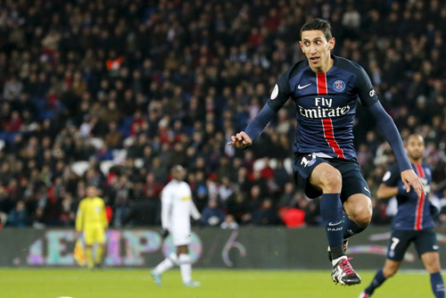 Di Maria đã có 11 bàn cho PSG trong mùa giải năm nay. Ảnh: Reuters.