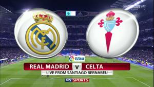 Link sopcast trận Real Madrid vs Celta de Vigo