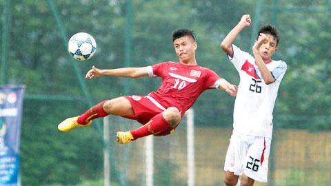 Chủ nhà Campuchia run sợ khi gặp U16 Việt Nam ở bán kết