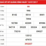 Phân tích kết quả xổ số Quảng Bình ngày 20-7-2017