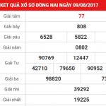 Phân tích chi tiết kết quả XSDN thứ 4 ngày 16-08-2017