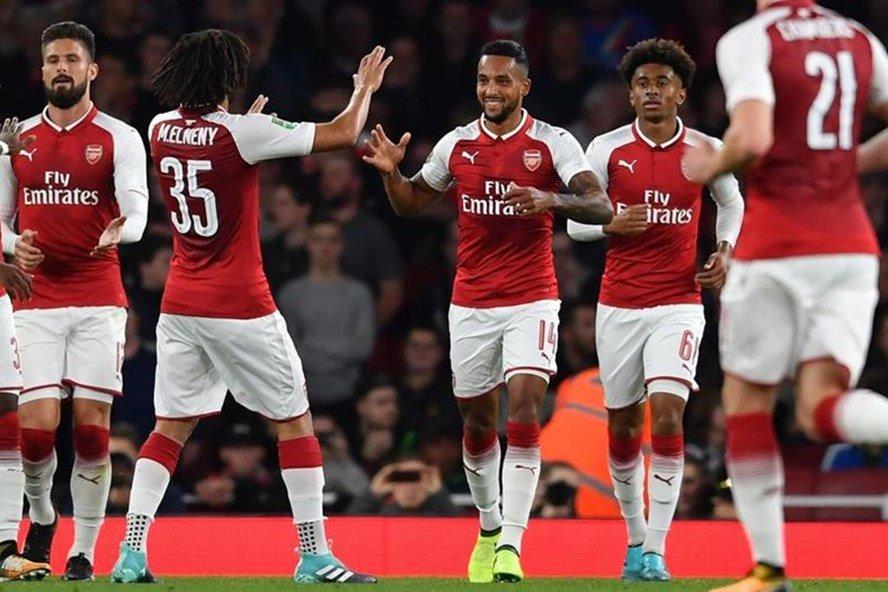 Arsenal phải trả giá đăt cho vòng 4 cúp Liên đoàn