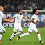 Marseille có bàn mở tỉ số từ khá sớm