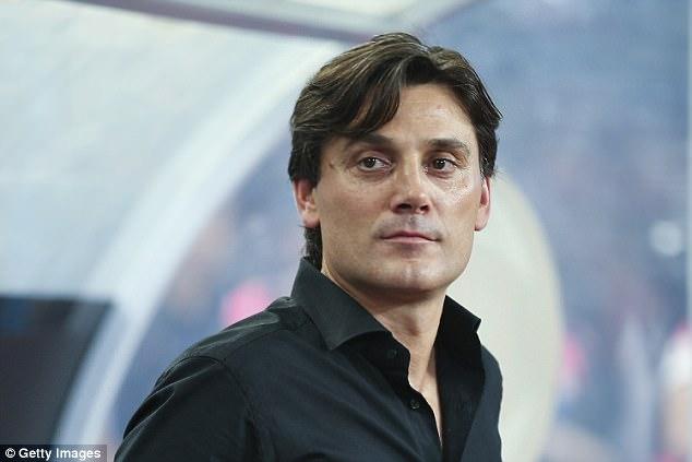 AC Milan chính thức sa thải HLV Vincenzo Montella