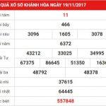 Phân tích kết quả xổ số Khánh Hòa ngày 22-11-2017 chính xác nhất