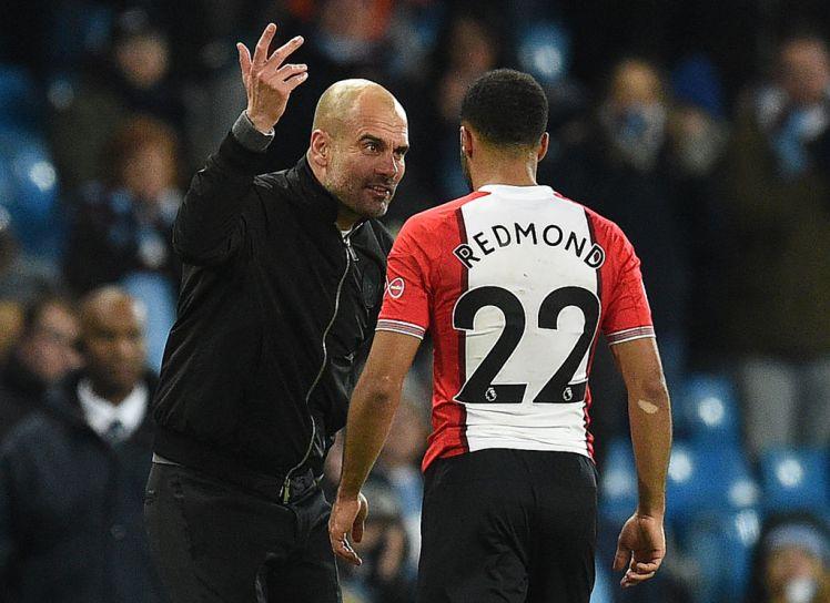 Hậu vệ Southampton nói gì khi bị Pep mắng