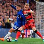 Hazard vào sân trong hiệp hai nhưng đã quá muộn